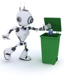 Robot recycling waste