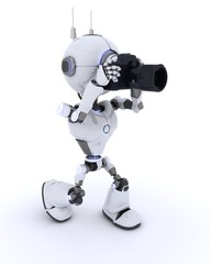 Robot with SLR Camera