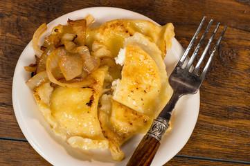 Pierogi. Polish Christmas Cuisine.