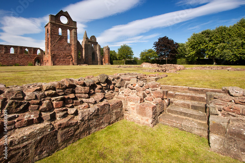 Arbroath, Abbey, Angus, Scotland,