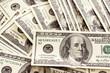 Cash spread of one hundred dollar bills