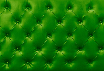green sofa leather background