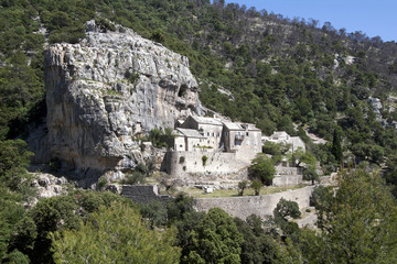 Blaca medieval glagolitic hermitage on Brac Island, Croatia