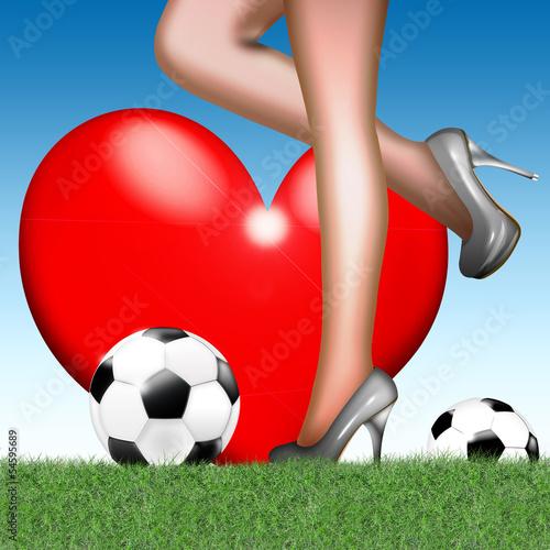 Liebe zum Frauenfußball