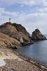 Faro del Cabo de Gata, Andalucía (España)