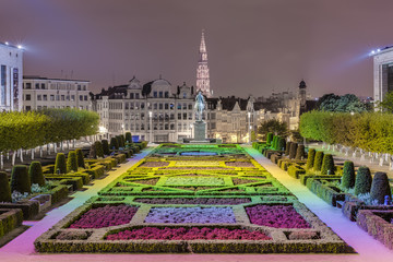 The Mount of the Arts in Brussels, Belgium.