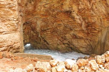 Odysseus Cave on Mljet Island