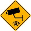 Überwachungskamera Schild