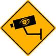 Vorsicht Kamera Schild