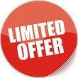 étiquette limited offer