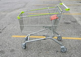 Shopping Cart at car park