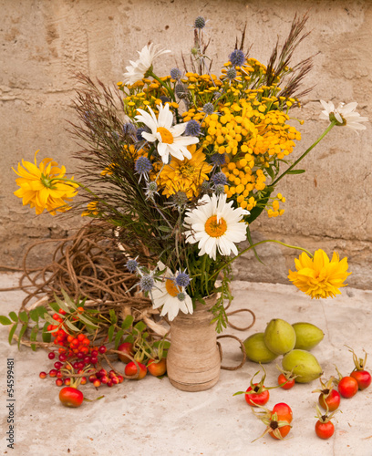 still life bouquet