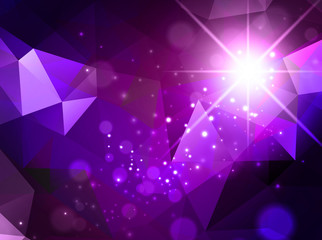 Abstract Background With Star