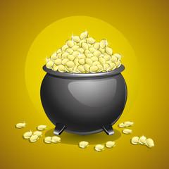 Pot of gold.