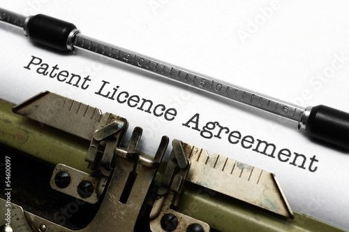 Patient license agreement
