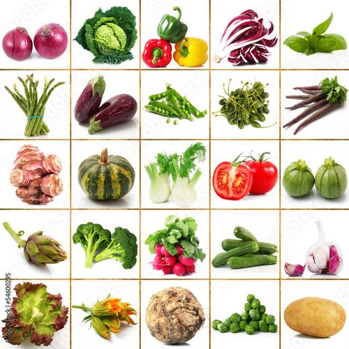 verdura collage