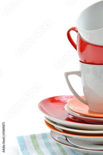 Geschirr Teller Tassen
