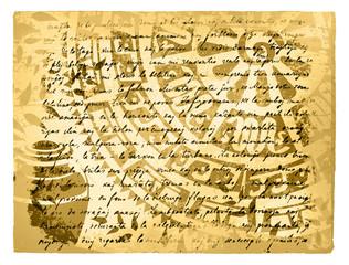 Vintage Travel Letter