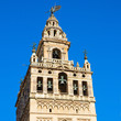 Bell tower of Cathedral church,  Seville, Spain