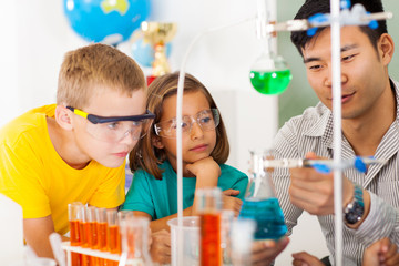 primary science class