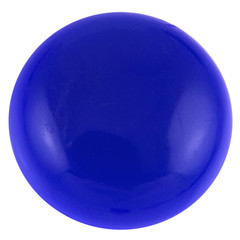 bouton magnétique bleu