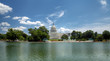 Panoramic view of the Capitol building in Washington, DC
