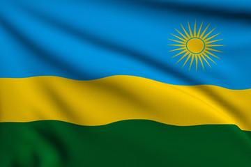 Flag of Ruanda