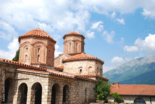 Monastery of St. Naum Ohridski, Ohrid Lake, Macedonia