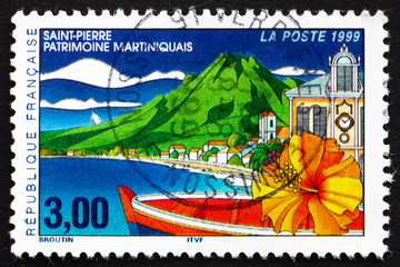 Postage stamp France 1999 Saint Pierre, Martinique