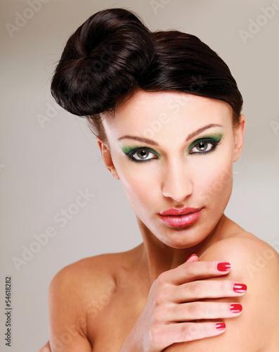 Fototapeten,modellieren,hautpflege,isoliert,attraktiv