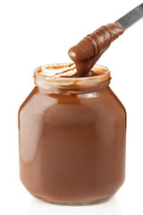 Fresh and delicious chocolate spread