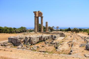 Überreste der Akropolis auf dem Monte Smith