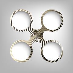 vector circular frames