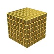 3D Golden Cubes