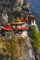Tigernest-Kloster (Taktshang), Bhutan