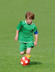 Junger Fußballer