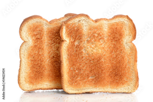 Foto Spatwand Brood Toasted Bread