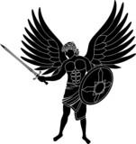 angel  stencil  first varian