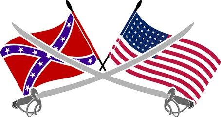 american civil war  stencil  seventh variat