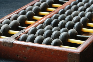 wooden ball of abacus