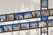 Milan travel memories - photo film strips