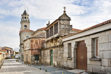 Priorato street at Vilanova de Arousa