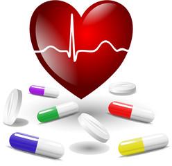 Herz Tabletten