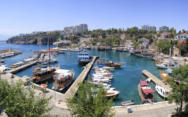 Harbour of Antalya
