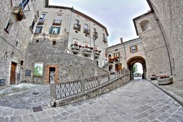 Civitella del Tronto, borgo antico di Italia