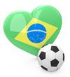 Brasilianische Fußballliebe