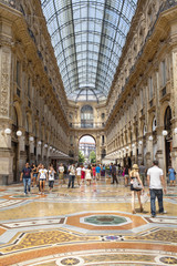 Milano-Galleria Vittorio Emanuele color image