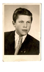portrait of an young man - circa 1950