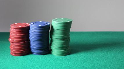 Fichas de poker stopmotion