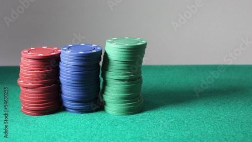 Fichas de poker stopmotion
